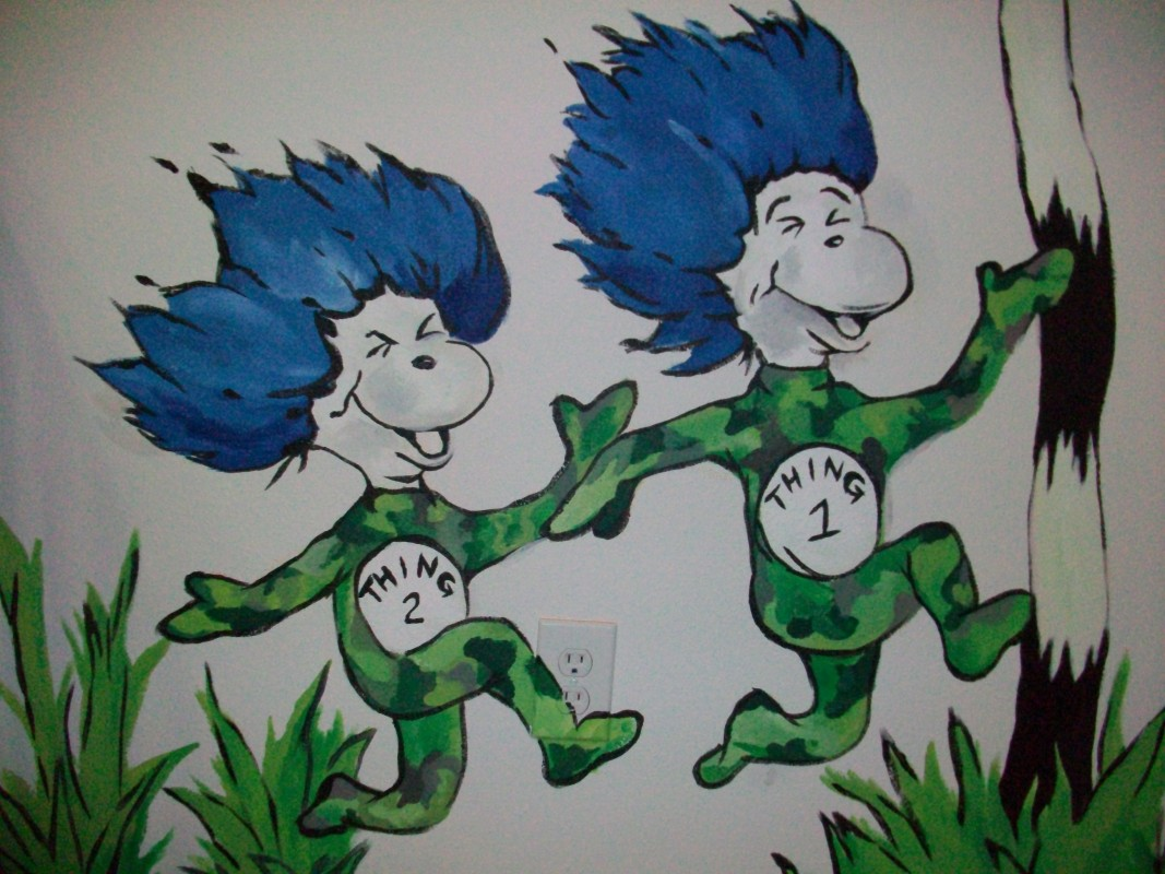 Dr suess mural 4 the art of brooke t braly for Dr seuss mural
